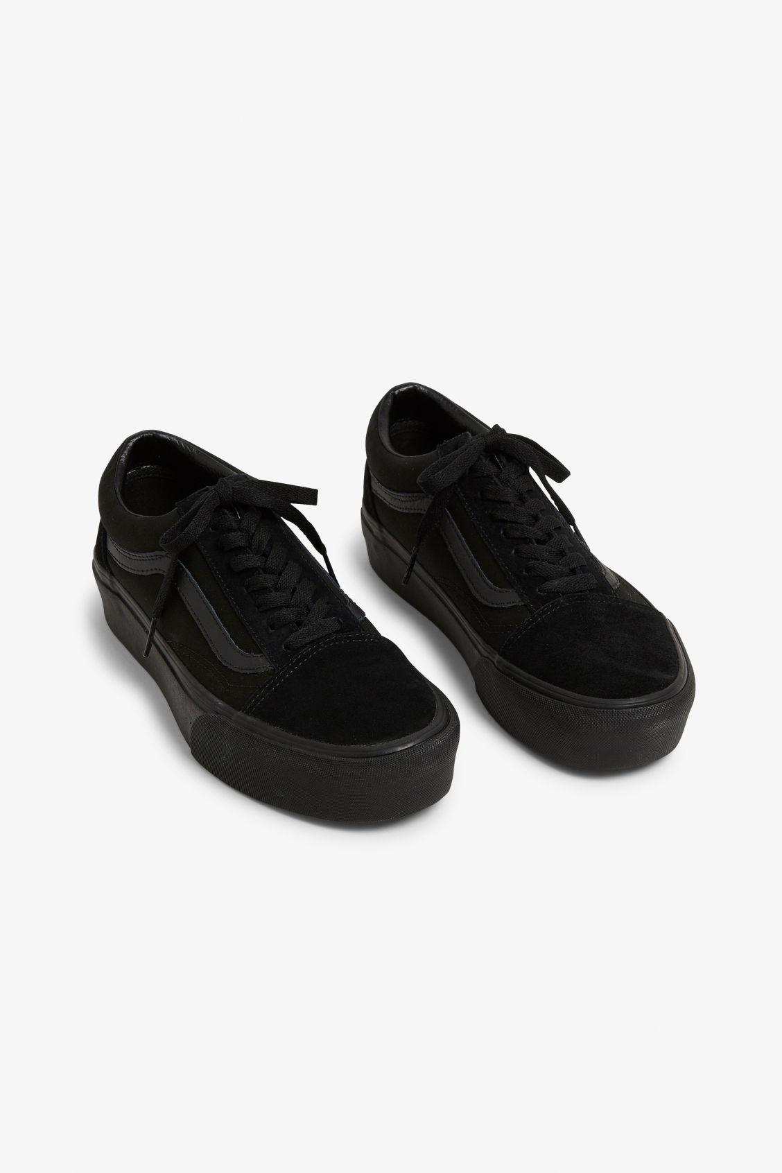 b7d7dc6e8e Vans suede old school - Black magic - Shoes - Monki