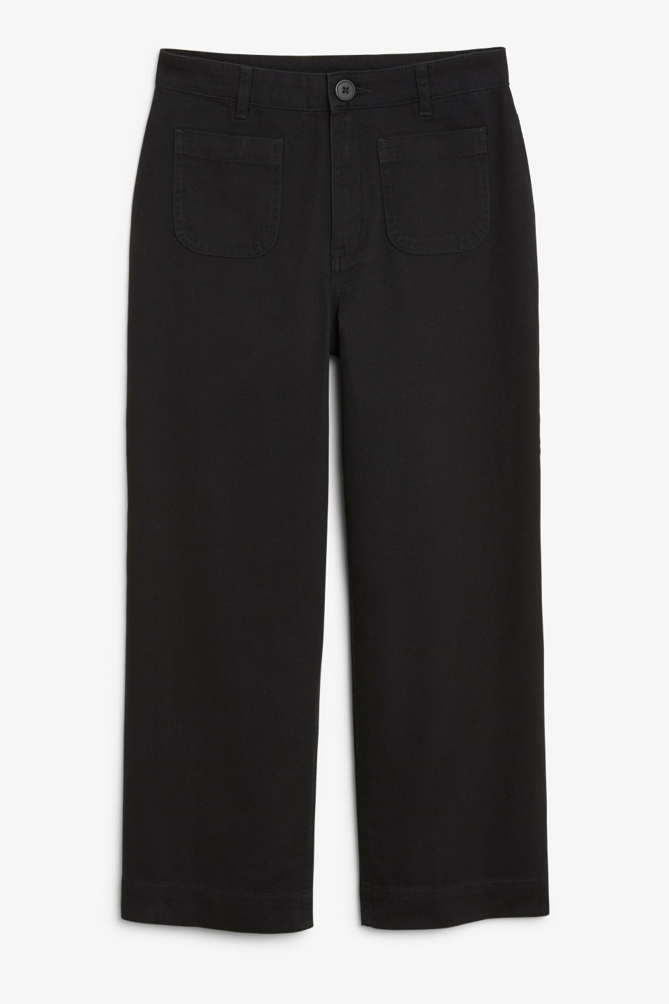 Wide trousers - Black