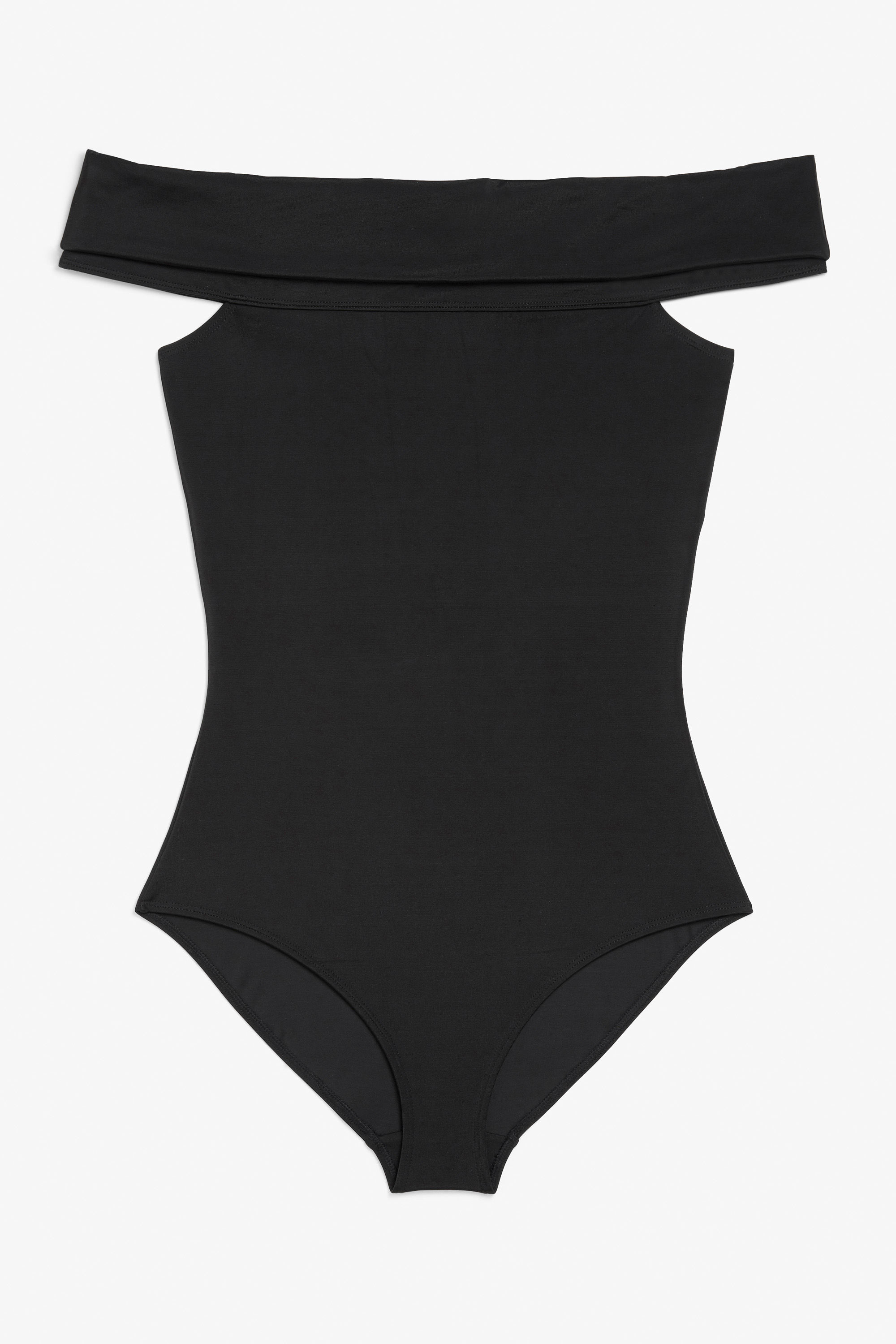 Monki cares Off-the-shoulder swimsuit £30