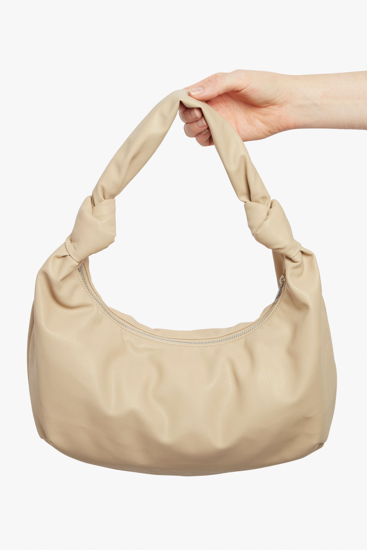 Round handbag with knot detail Monki