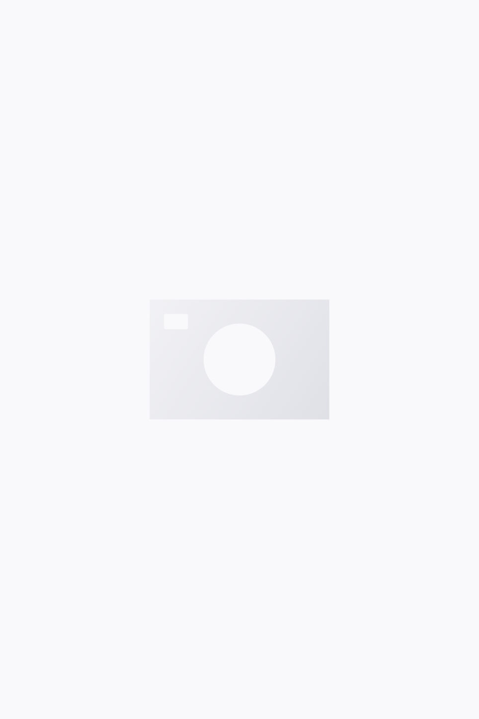 Model side image of Monki sporty trousers in blue
