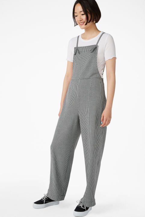 Flowy dungarees