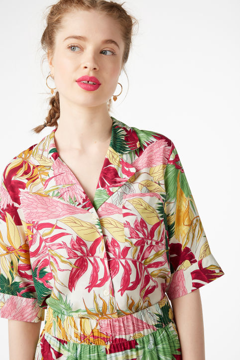Clearance 100% Authentic Shirt-style blouse DAY.LIKE multicoloured Day Like From China Free Shipping Low Price Buy Cheap Low Price Fee Shipping ZyNhYJOg