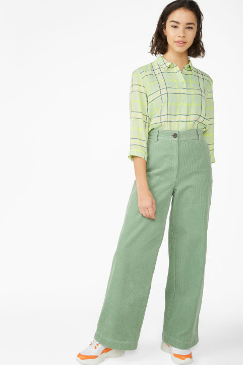 Trousers - Trousers   shorts - Clothing - Monki 976682a4d79d9