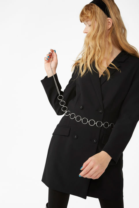 Long blazer dress
