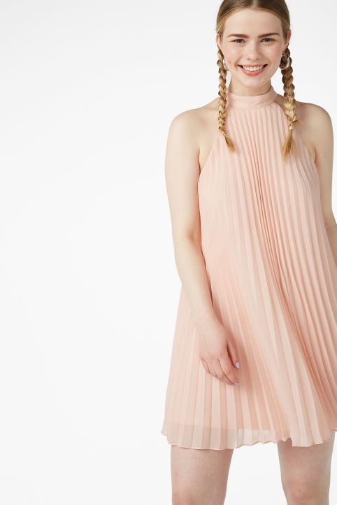 Plissé party dress