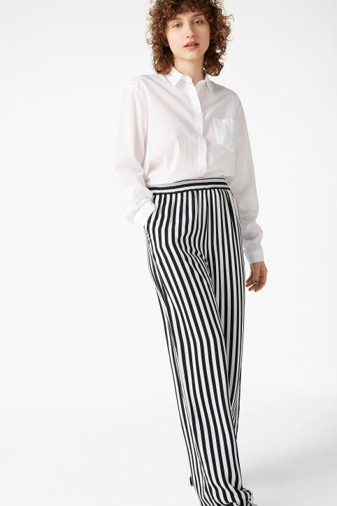 Relaxed pull-on trousers