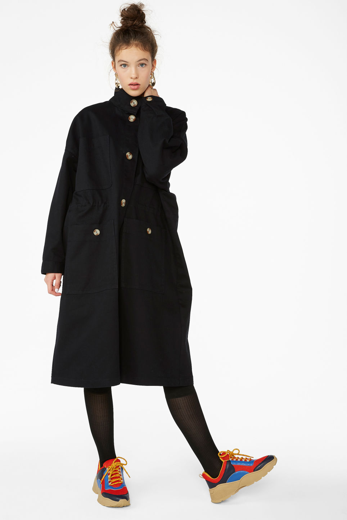 ee787822ba700 Utility jacket - Black magic - Coats   Jackets - Monki