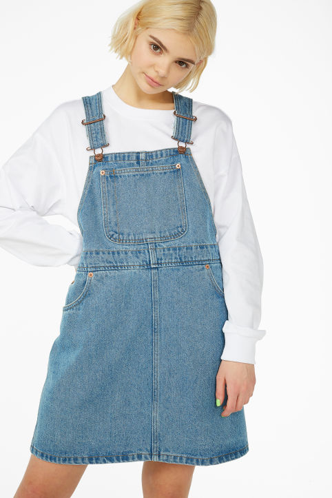 f9b932581634 Denim dungaree dress Denim dungaree dress