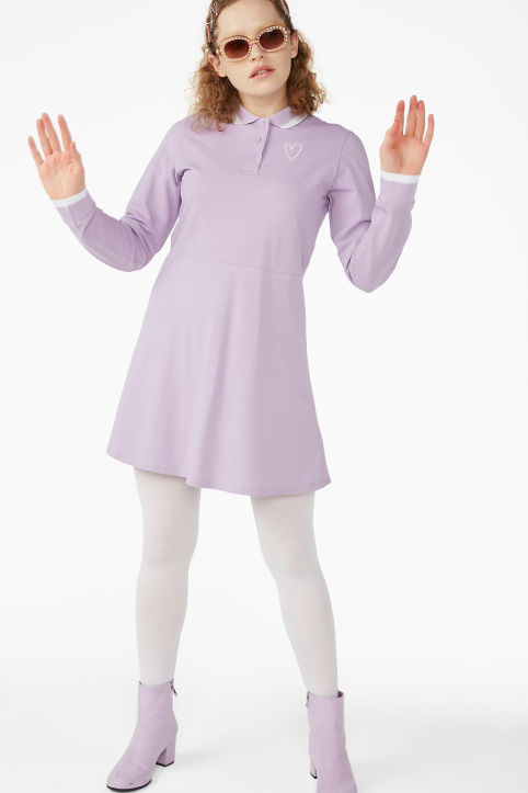 Long-sleeved tennis dress