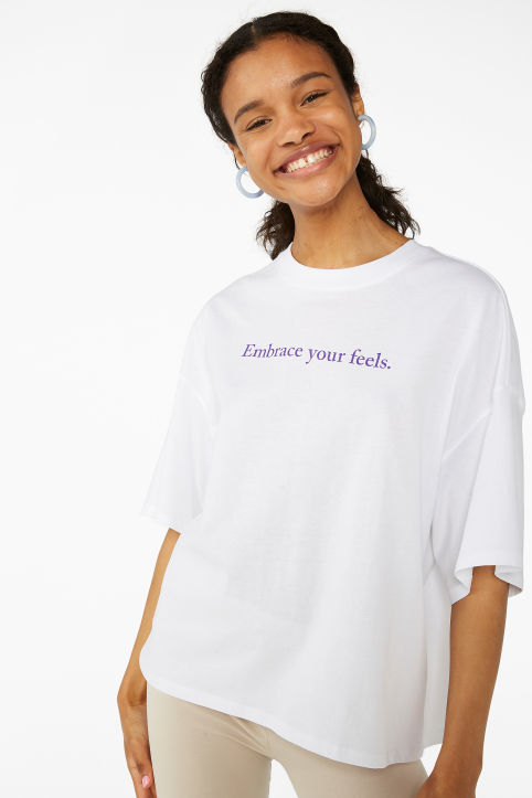 Embrace your feels tee