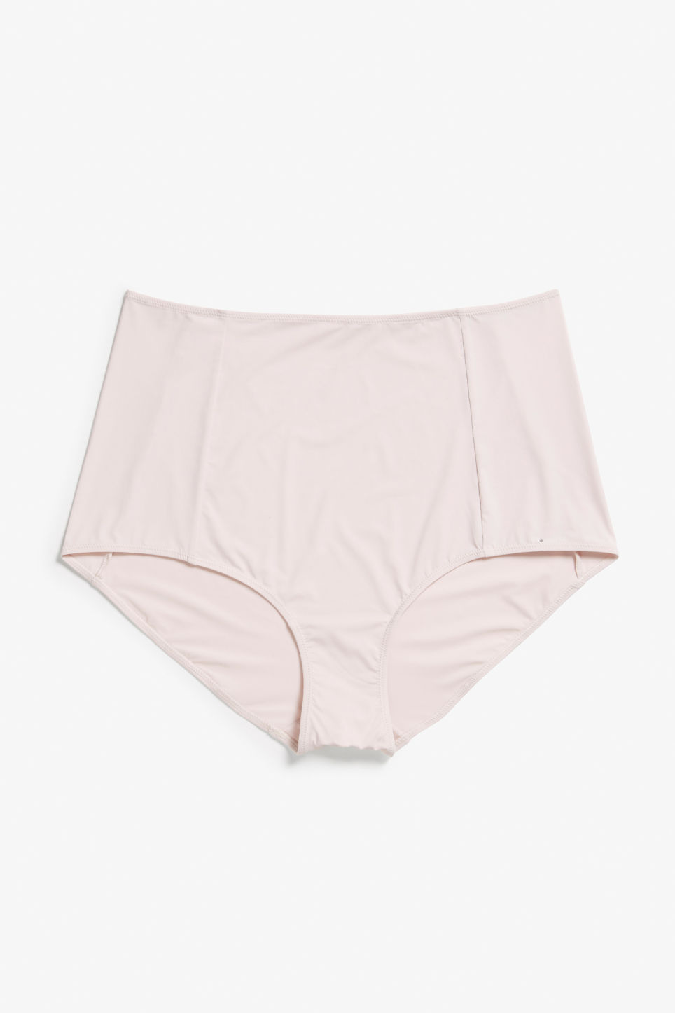 Front image of Monki hightwaist briefs in pink