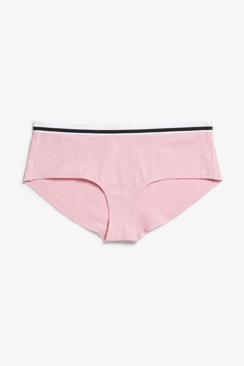 Front image of Monki sporty hipster briefs in pink