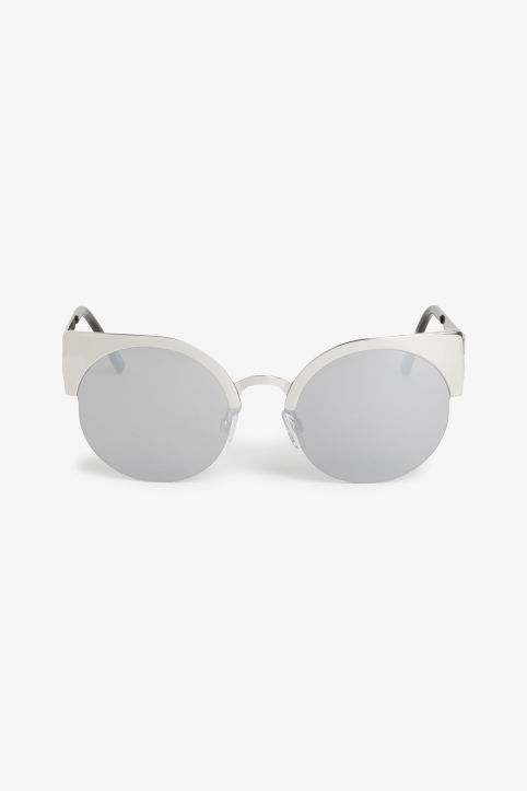 Cat/rimless sunglasses