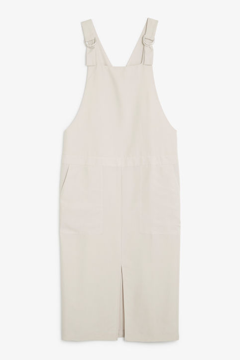Soft pinafore dress