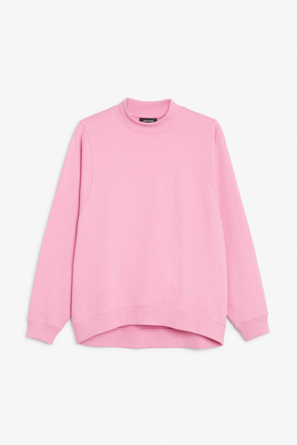 Front image of Monki loose-fit sweater in pink