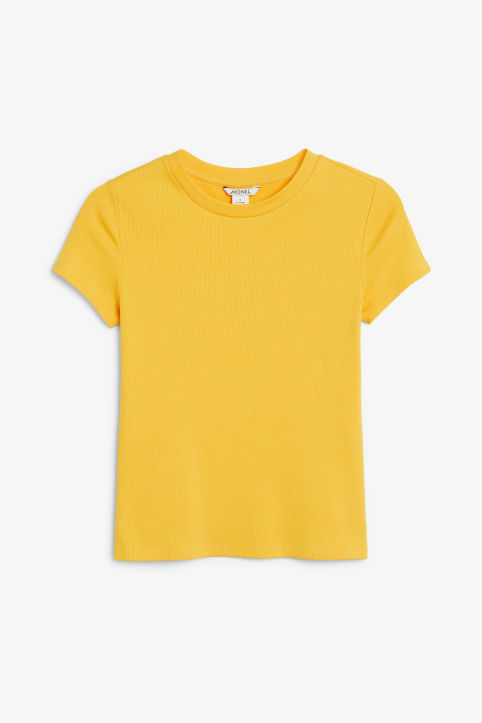Ribbed t-shirt