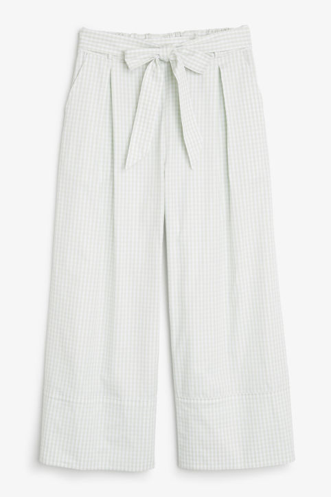 Culottes with paper bag waist