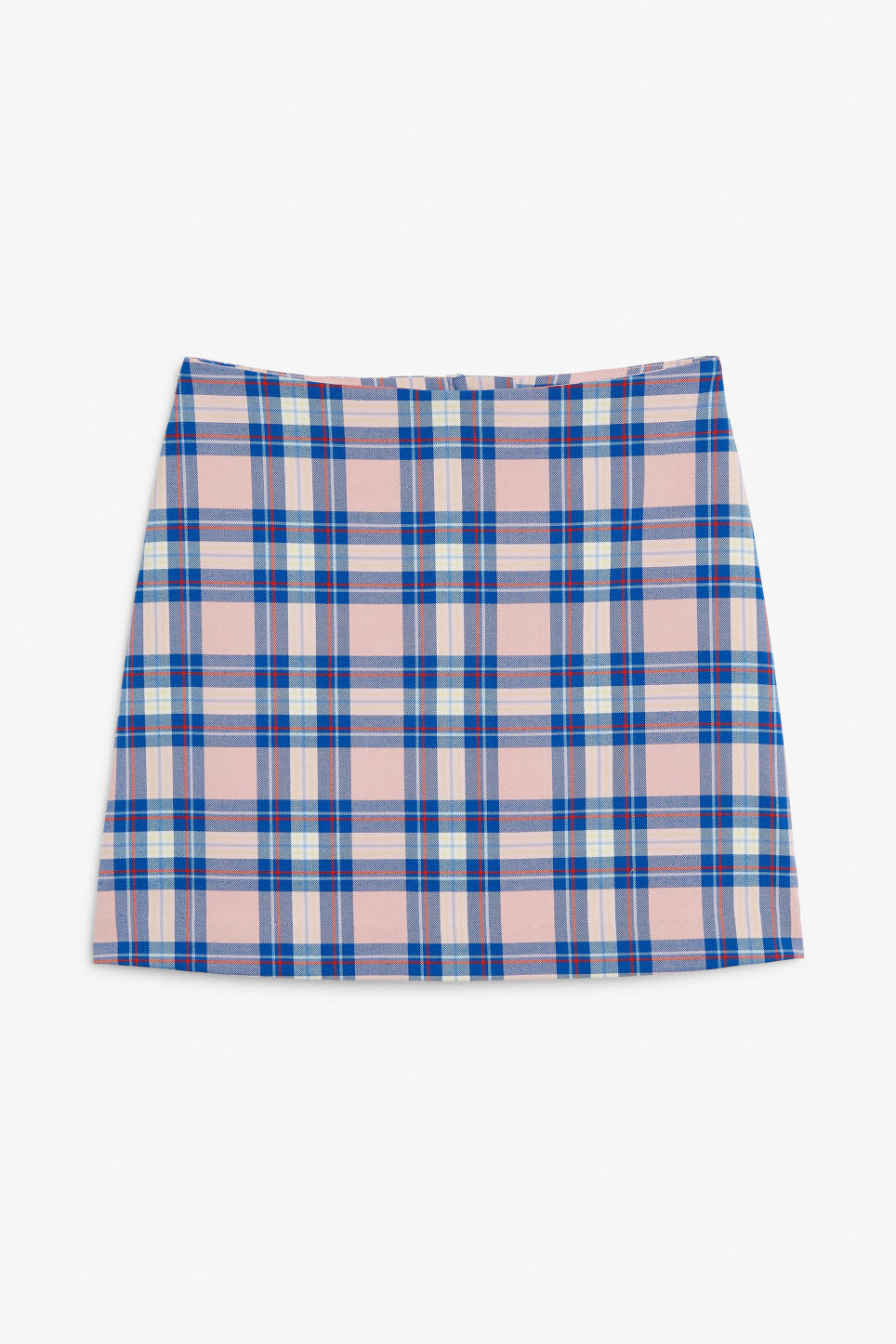 Front image of Monki mini skirt in pink
