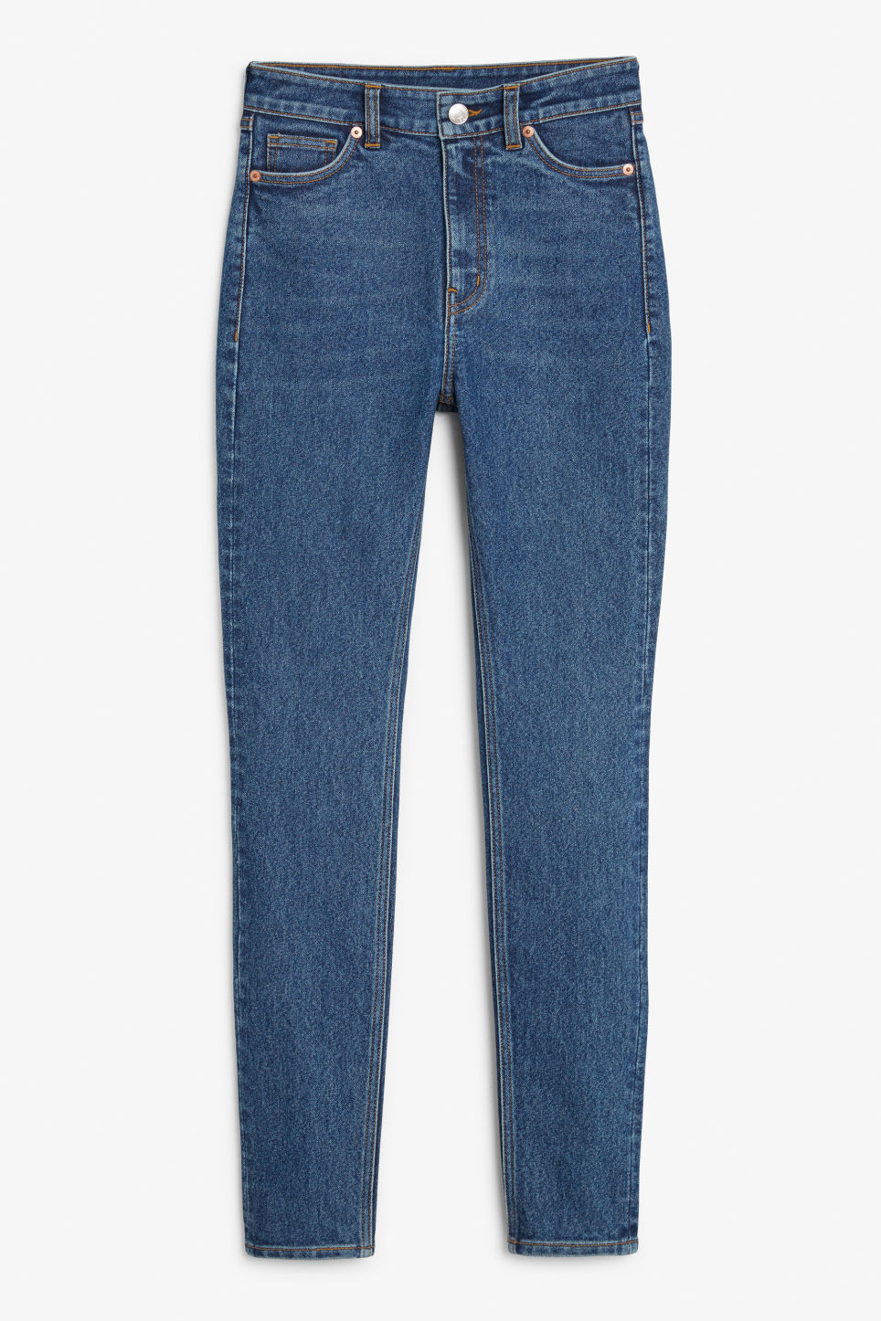 Front image of Monki oki comfort blue in blue