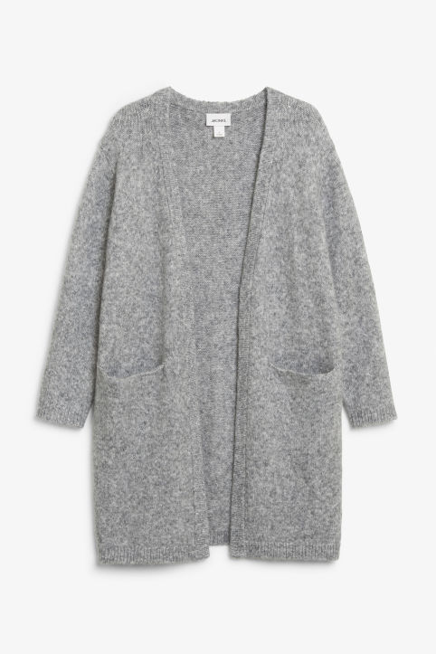 Long cosy cardigan