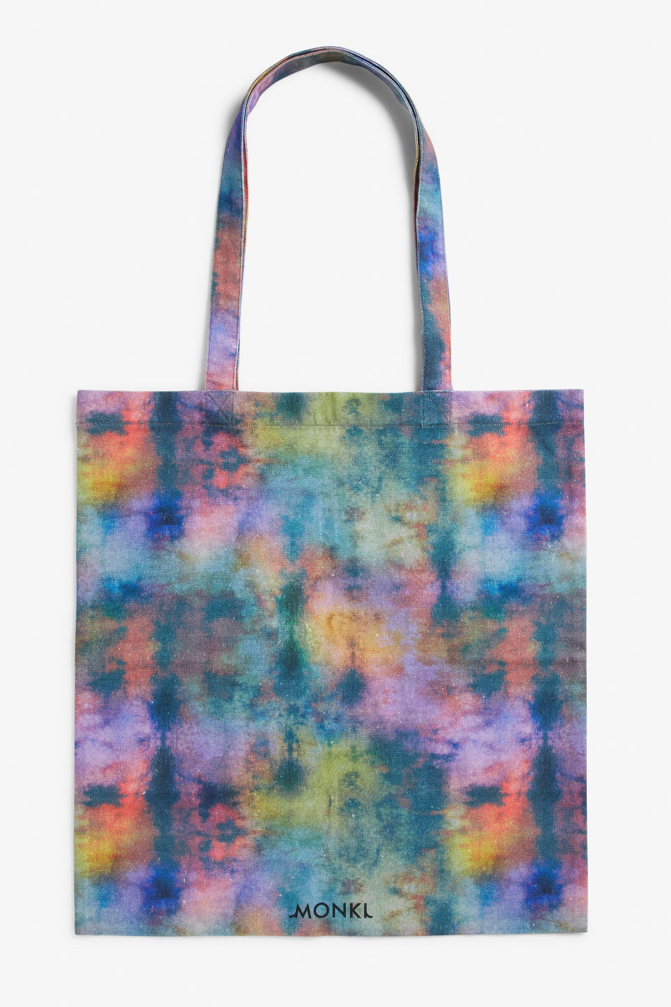 Front image of Monki tote bag in blue