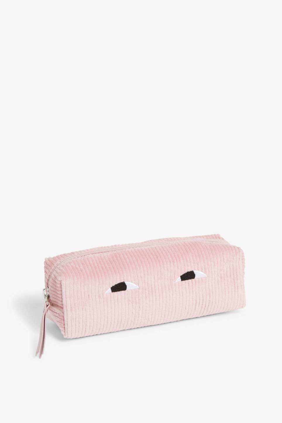Front image of Monki pencil case in pink