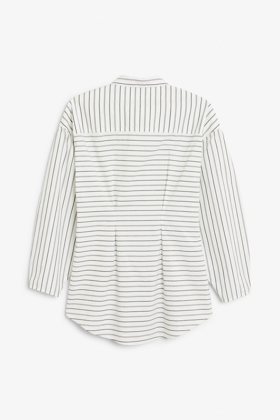 Back image of Monki bustier blouse in white