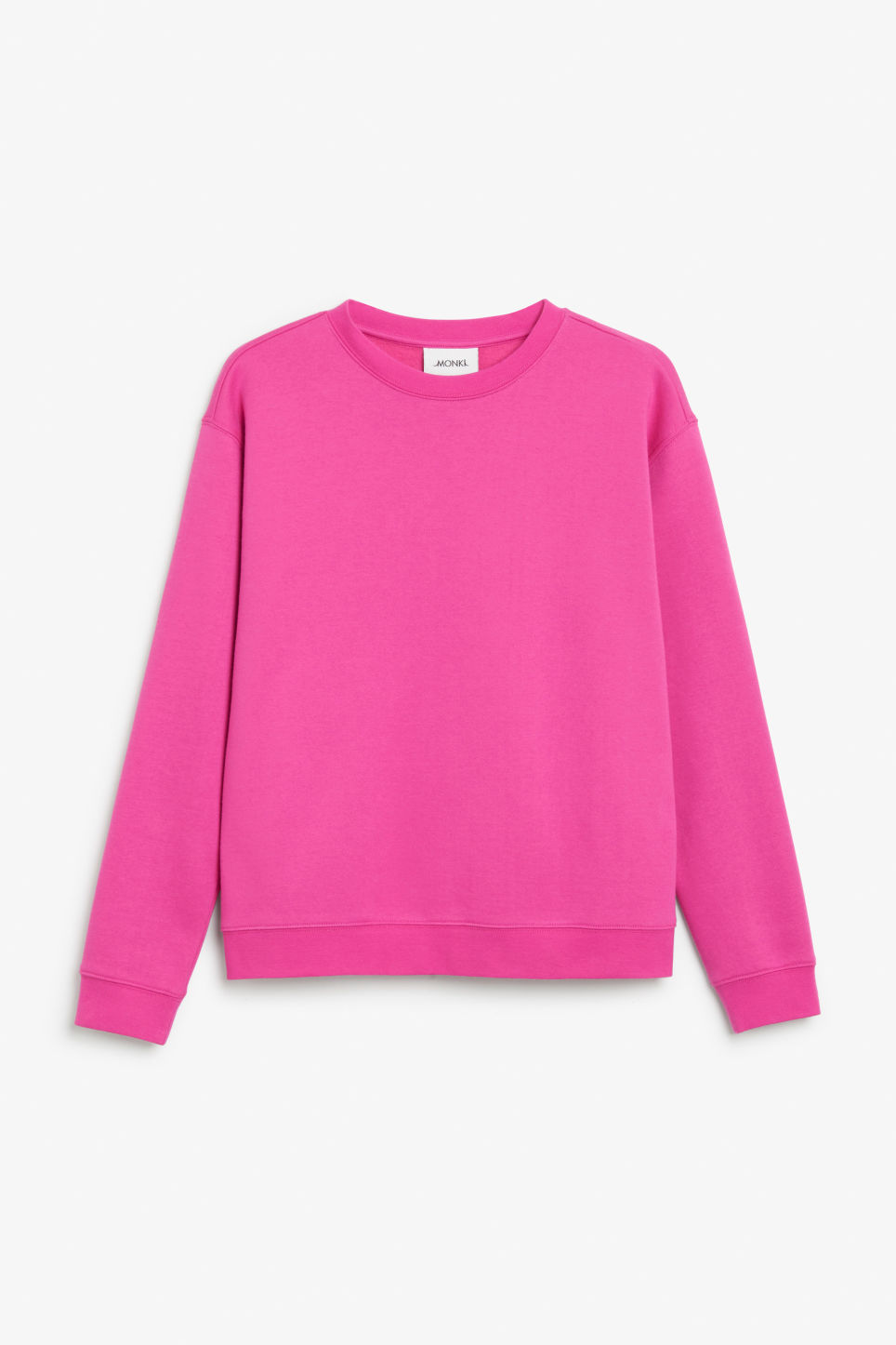 Front image of Monki soft sweat  in pink