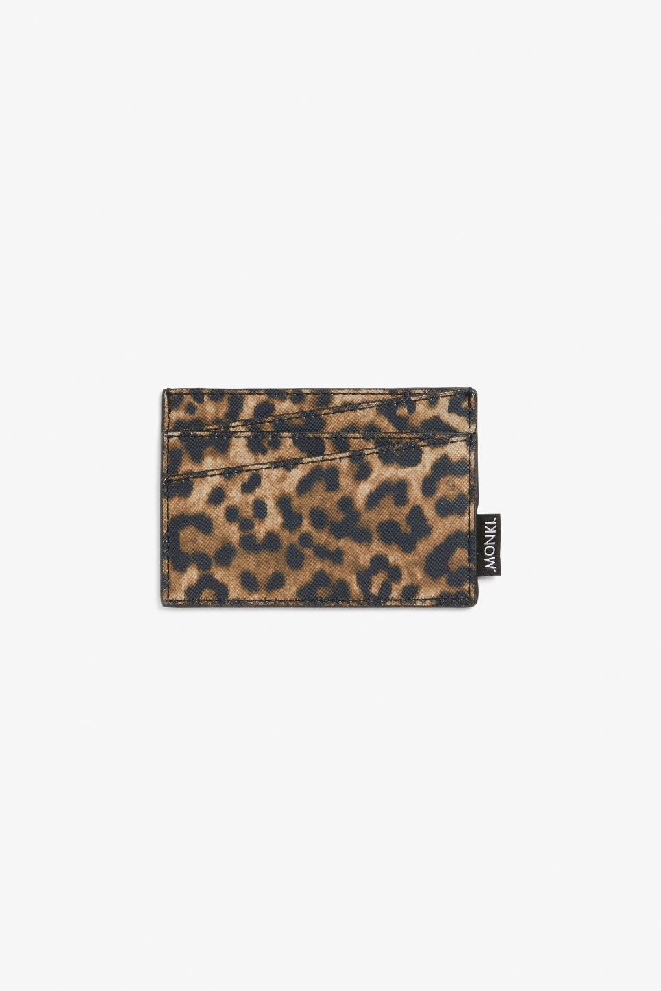 Front image of Monki card case in beige