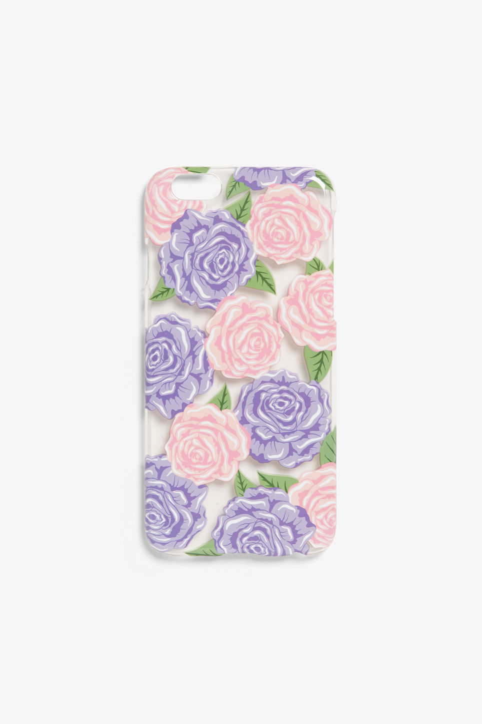 Front image of Monki monki phone case in purple