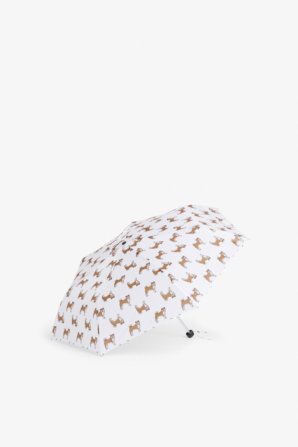 Front image of Monki monki umbrella in beige
