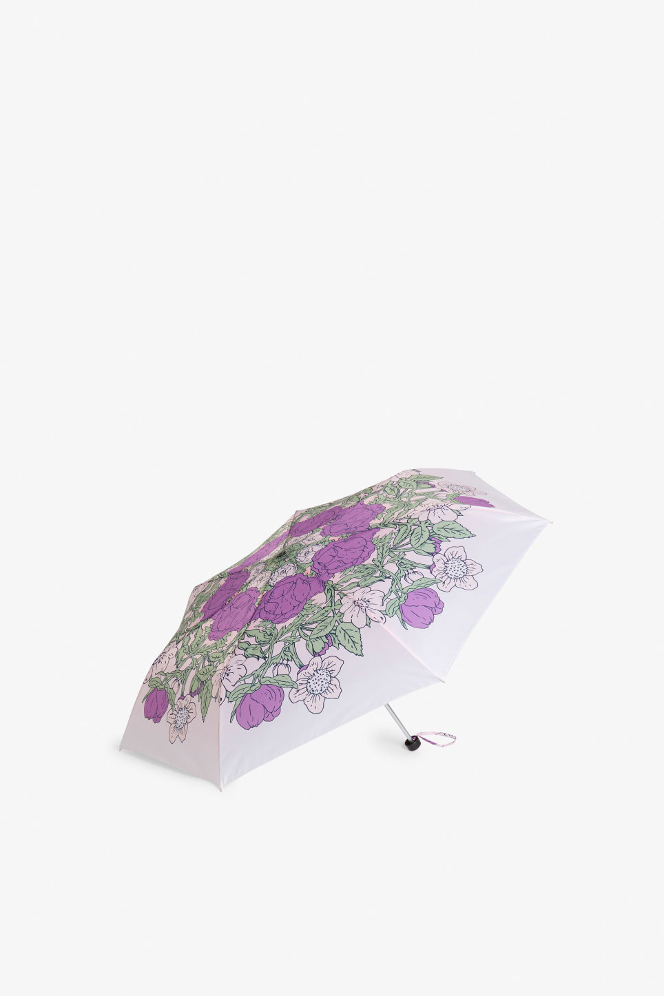 Front image of Monki monki umbrella in purple
