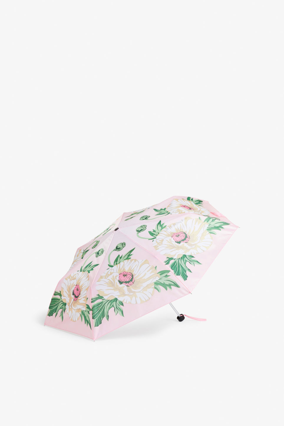 Front image of Monki monki umbrella in pink