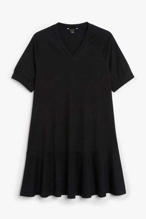 Oversized raglan dress