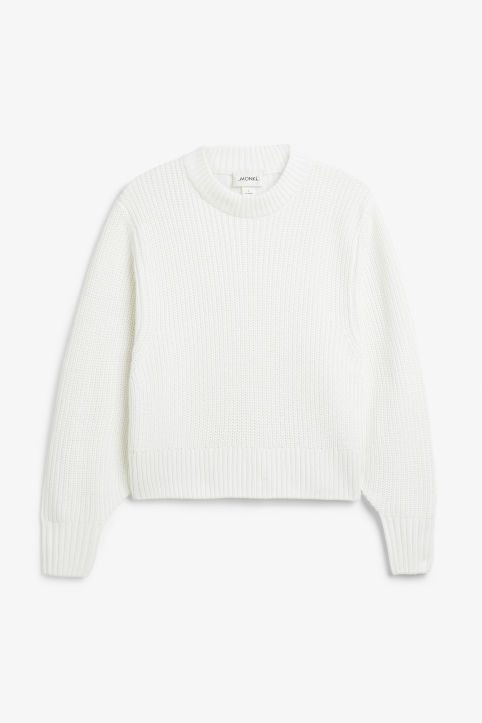 0e0b7d5a0 Puffed sleeve sweater Puffed sleeve sweater