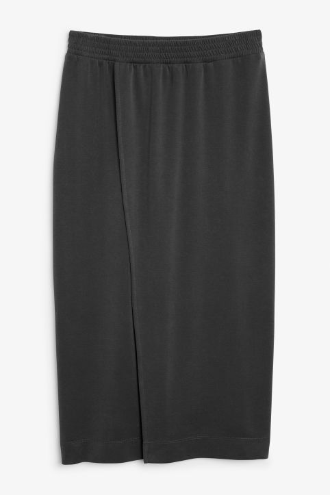 Super-soft wrap skirt