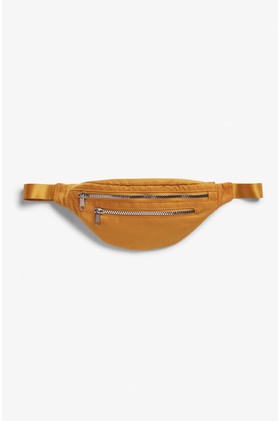 Front image of Monki fanny pack in yellow