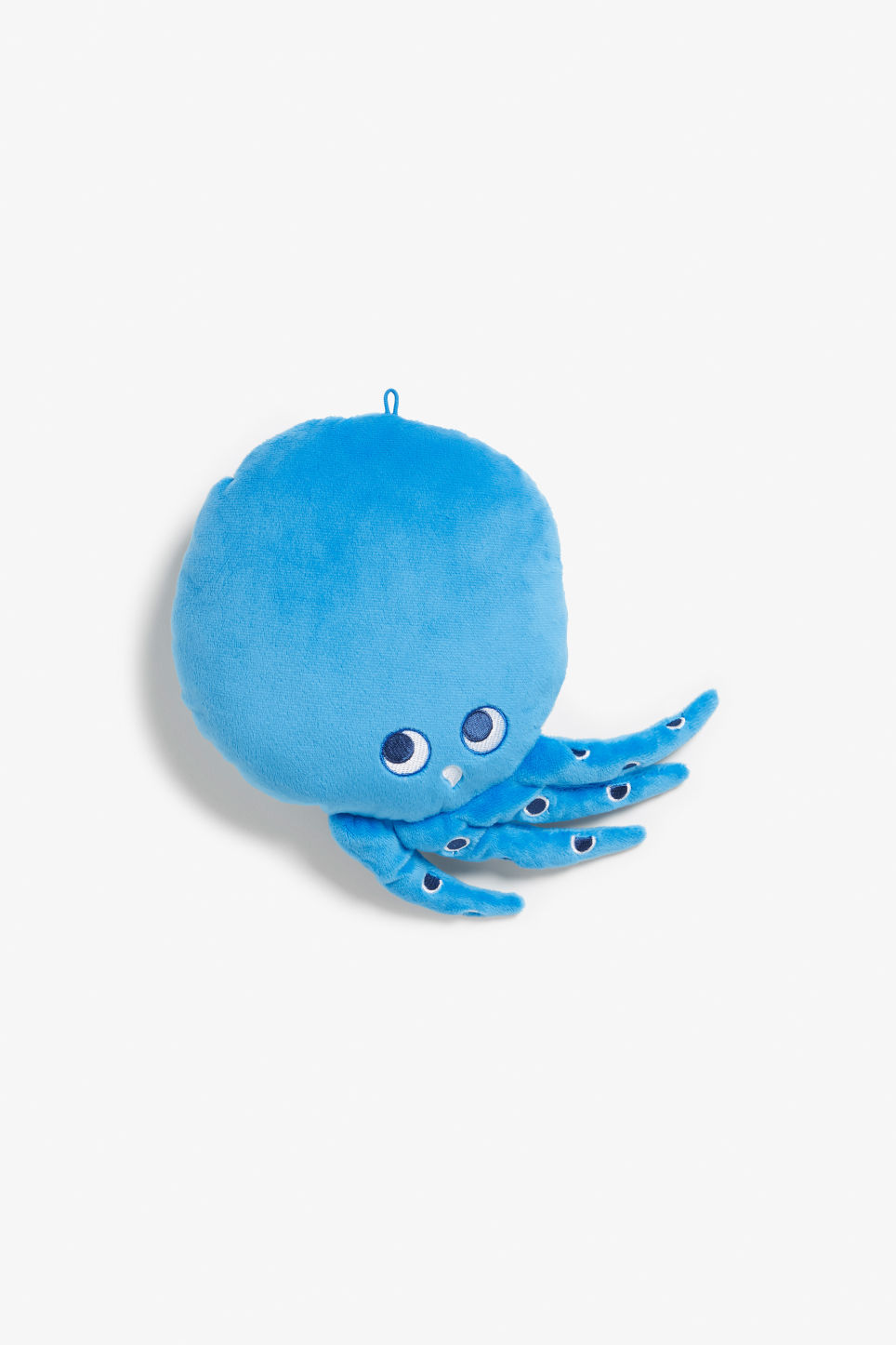 Front image of Monki monki mini cushion in blue