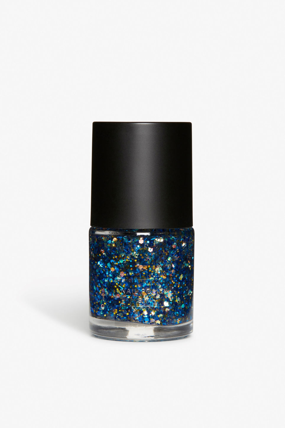Front image of Monki monki nail polish in blue