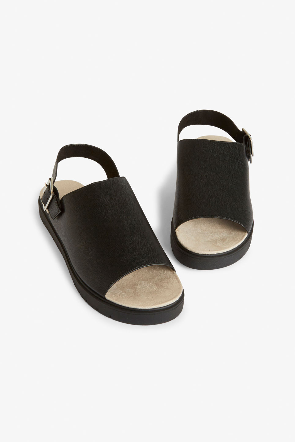9751533cd054 Slingback sandals - Black magic - Shoes - Monki