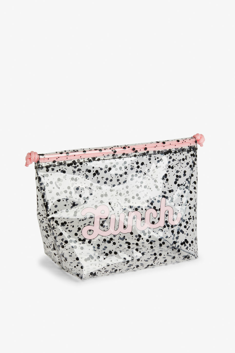 Front image of Monki lunch pouch in white