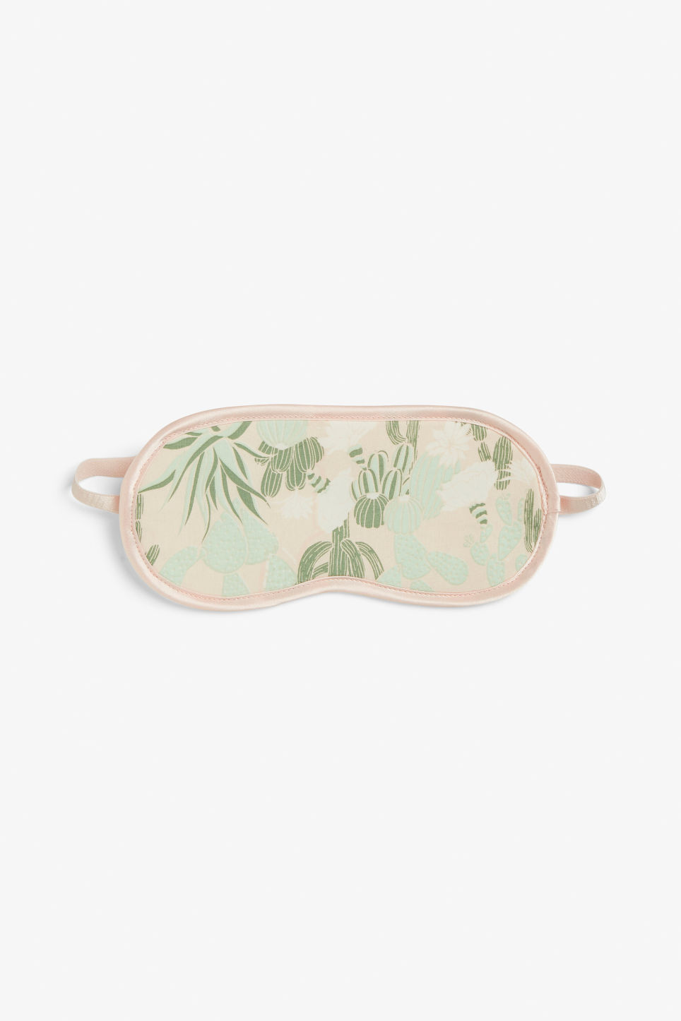 Front image of Monki monki sleeping mask in green