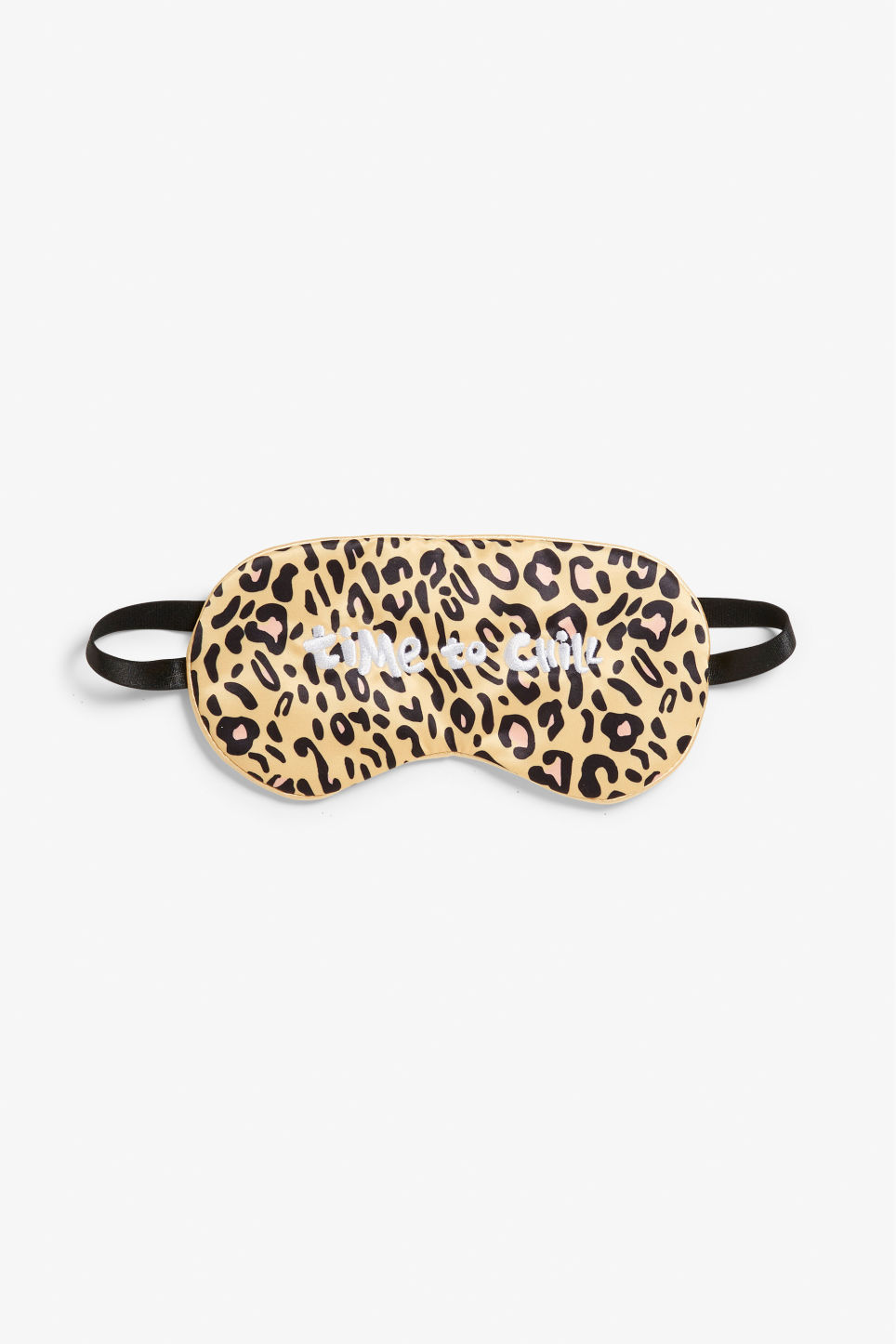 Front image of Monki monki sleeping mask in orange