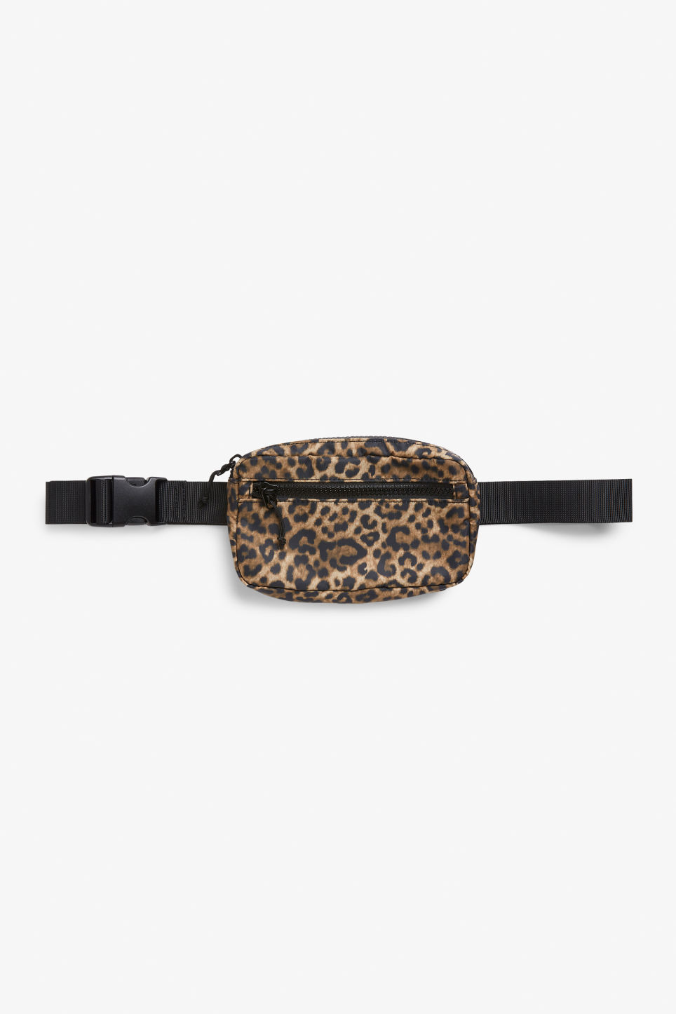 Front image of Monki fanny pack in beige