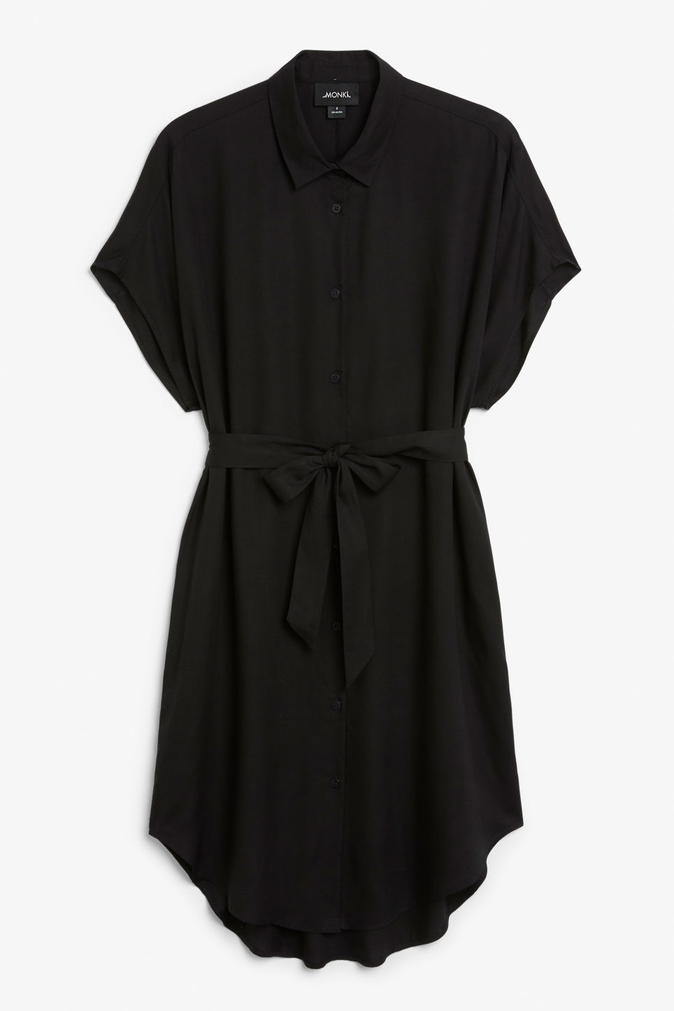 Front image of Monki null in black