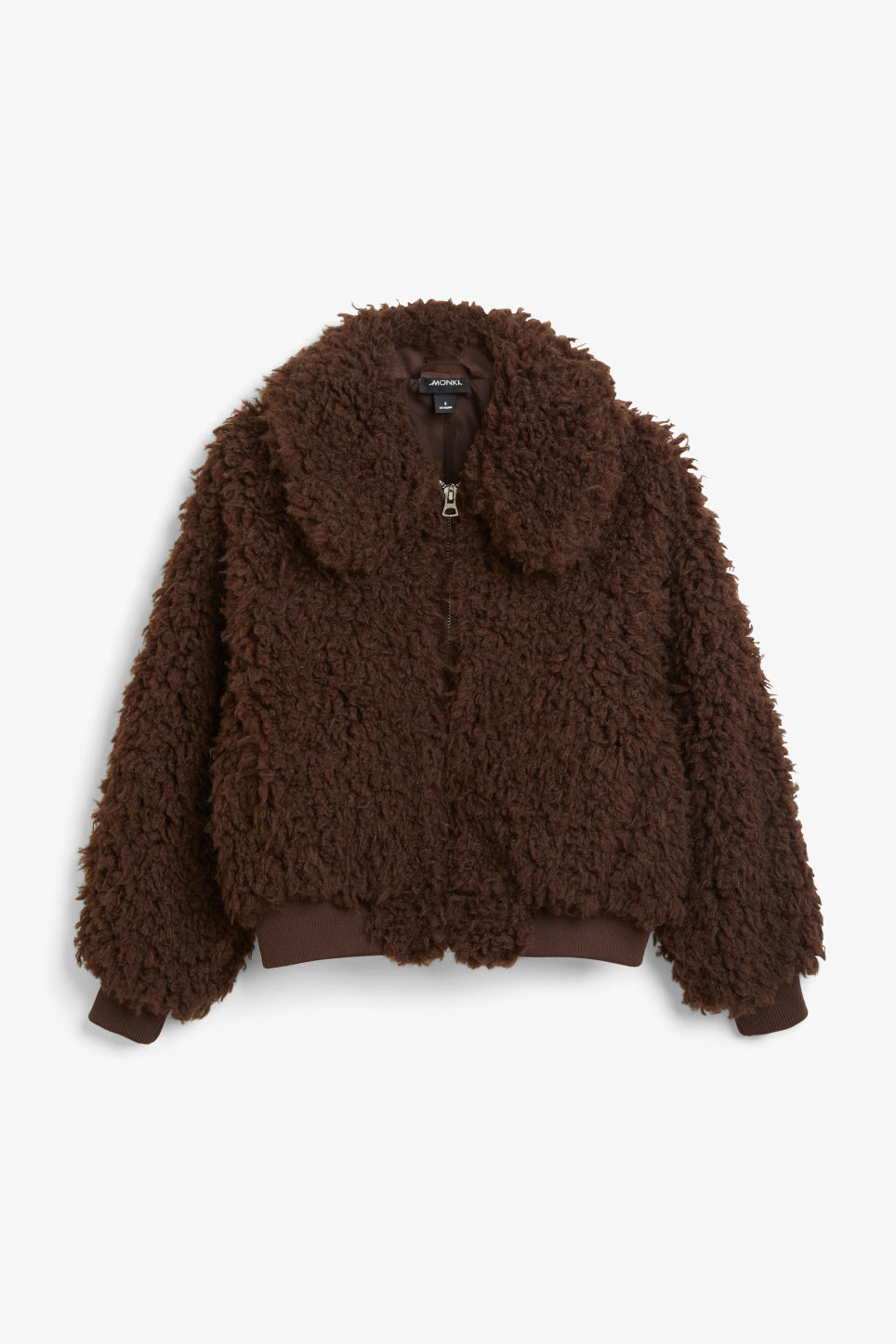 Front image of Monki  in brown