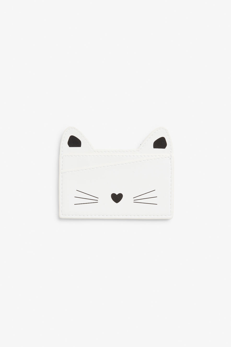 Front image of Monki cardholder  in white