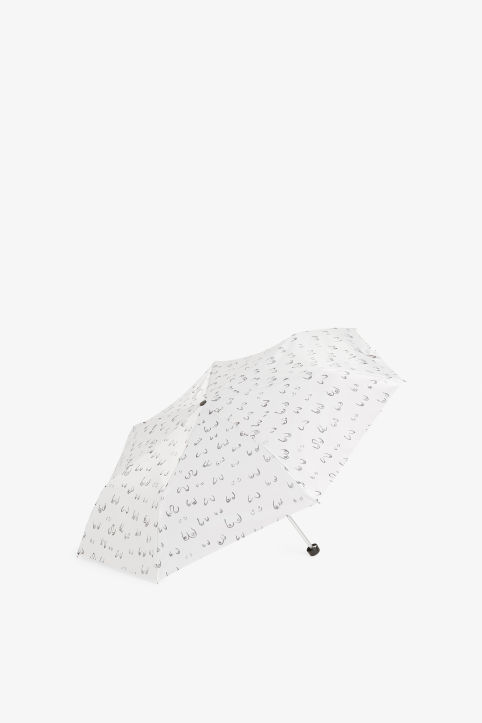 Front image of Monki monki umbrella in white