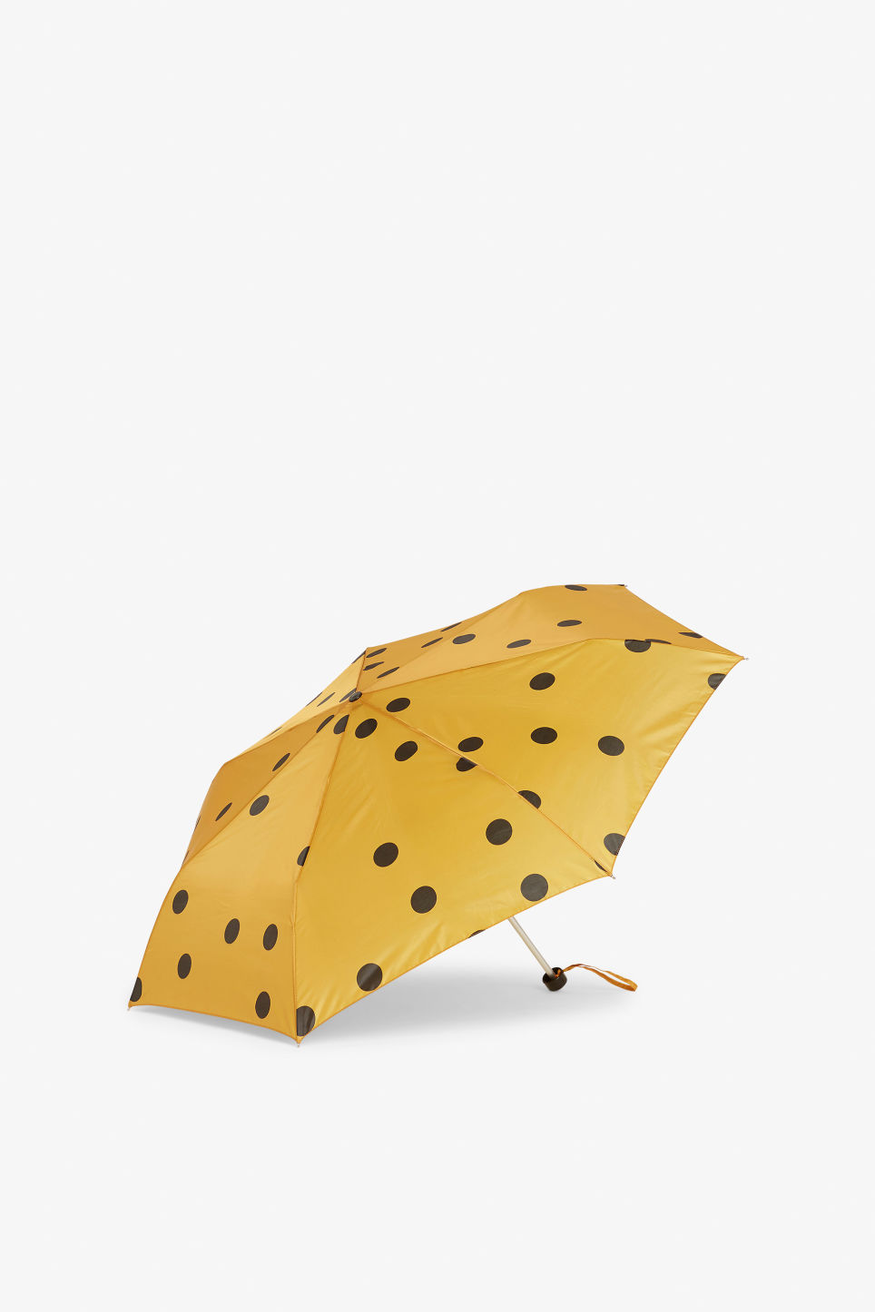 Front image of Monki monki umbrella in yellow